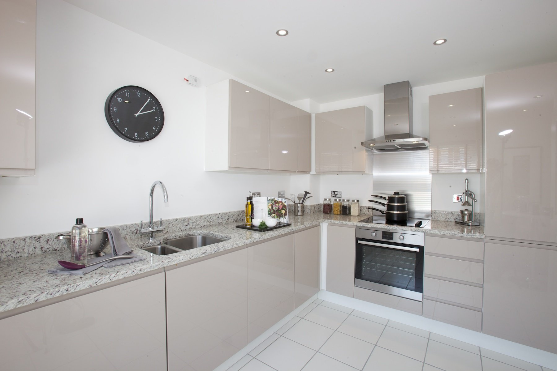 Kings Copse show home - Kitchen/breakfast area